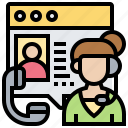 call, client, consultant, operator, service