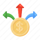 cash, outflow, money direction, currency direction, money outflow, dollar outflow, cash outflow