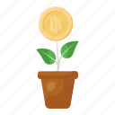dollar, plant, currency, business, nature