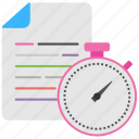 business management, business planning, production scheming, time management, time table icon