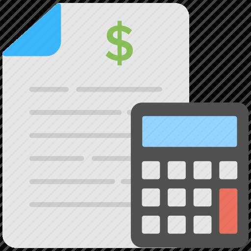 financial budget calculator