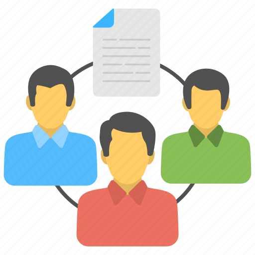 collaboration, team connection, teamwork, workforce management, working cooperation icon