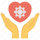 emotional attachment, emotional development, hand holding heart, heart display, relationship status icon