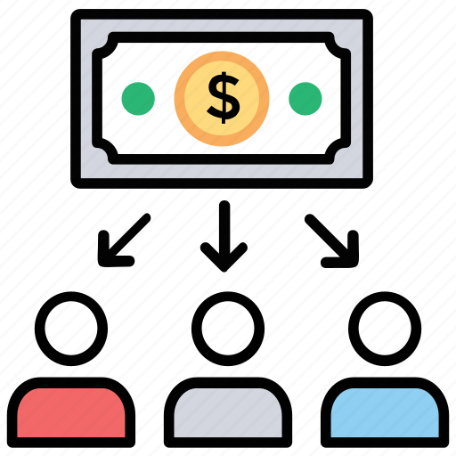 business financing, business funding, business investors, finance and funding, financial capital icon