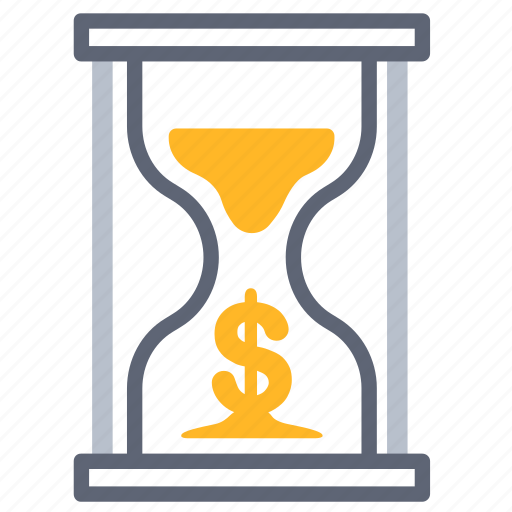 business, management, money, time, value icon