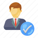 selected, candidate, approved candidate, verified candidate, selected candidate, hired candidate, right candidate icon