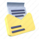 email, mail, message, communication