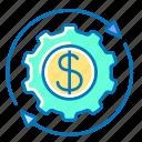 business, finance, financial, management, dollar, gear