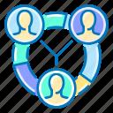 skills, employer, users, pie, chart