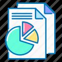 statistics, analysis, analytics, chart, sheet, pie