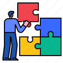 business, solution, success, strategy, idea, marketing, puzzle