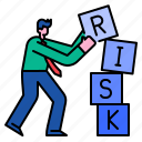 risk, solution, strategy, businessman, management, investment, analysis
