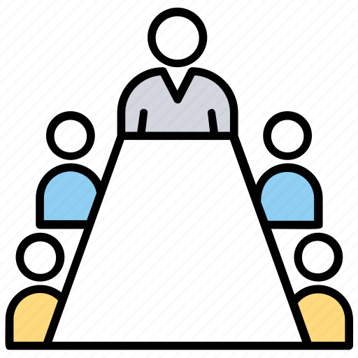 conference, congress, convention, council, meeting icon