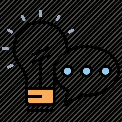 collaborative idea, creative marketing, digital marketing, innovative idea, marketing idea icon