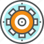 cog wheel, cogwheel, engineering, gear, mechanism, technical, work icon