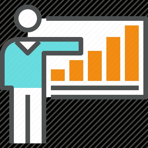 businessman  chart  corporate  graph  growth  presentation