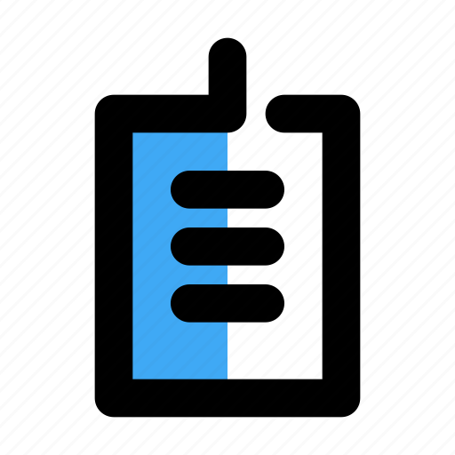 board, checklist, clipboard, document, list, notes icon