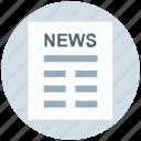business, news, news article, newsletter, newspaper, press