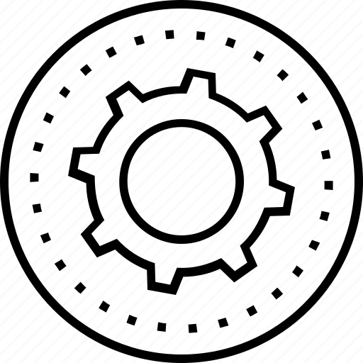 cog, cogwheel, development, gear, production icon