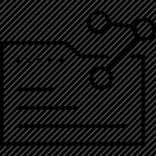 data, data share, folder, share, sharing info icon