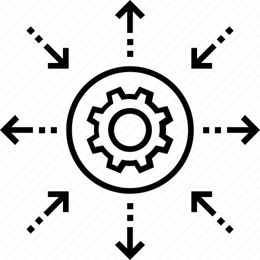 Differentiation, disparity, distinction, distinctness, polarity icon - Download on Iconfinder