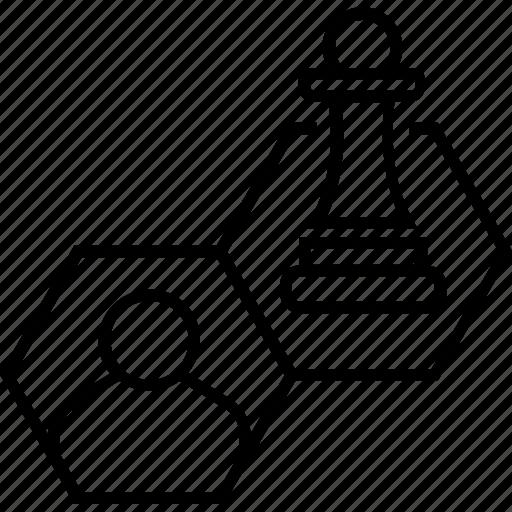 audience, chess pawn, customer, customer strategy, marketing icon