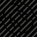 cog, cogwheel, instinctive, intuitive, network icon