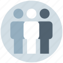 businessmen, management, meeting, people, standing, users