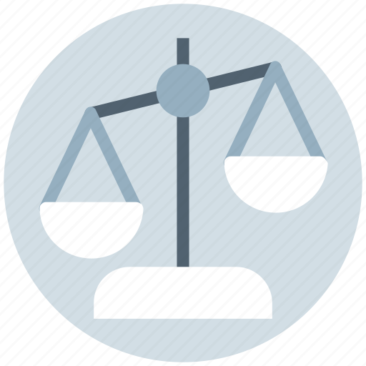 balance, business, justice scale, law, scale icon