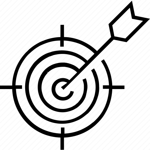 bullseye, objective, opportunity, opportunity detection, target icon