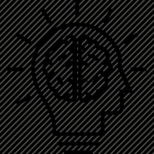 Brain, idea, innovation, mind, thinking icon - Download on Iconfinder