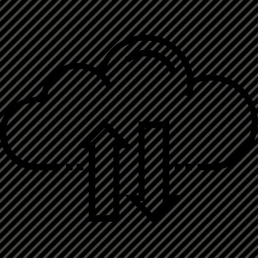 backup system, cloud computing, cloud download, cloud storage, cloud upload icon