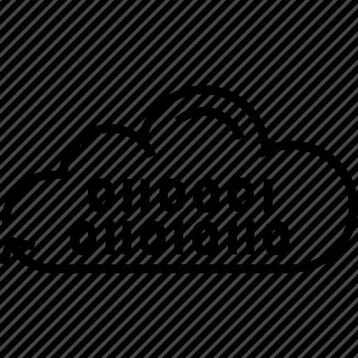 binary, cloud coding, cloud computing, coding, icloud icon