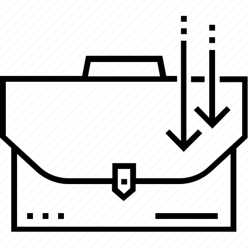 administrator, briefcase, marketing, portfolio of offering, strategy icon