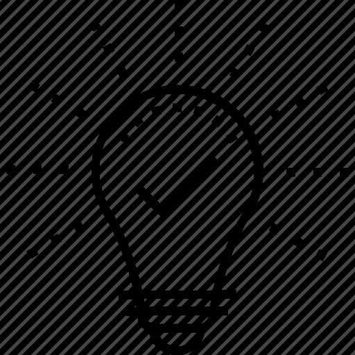 bulb, great idea, idea, innovation, lightbulb icon