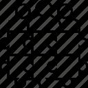 project teams, organization, jigsaw, together, team icon