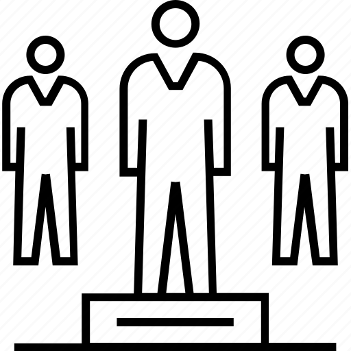 businessman, leadership, organization, team, teamwork icon