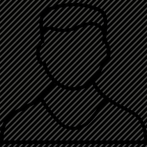 avatar, businessman, employee, human resource, profile icon