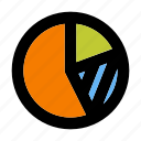 business, chart, corporate, people, pie, team, teamwork icon