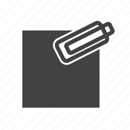 attach, attachment, business, clip, file, paper, sign icon