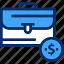 bag, business, management, suitcase