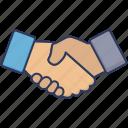 agreement, contract, deal, handshake