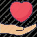 heart, love, share, care