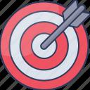 target, focus, aim, business