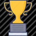 trophy, success, winner, business