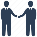 agreement, business deal, business partnership, handshake icon