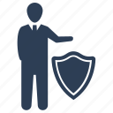 business protection, insurance, secure, security icon