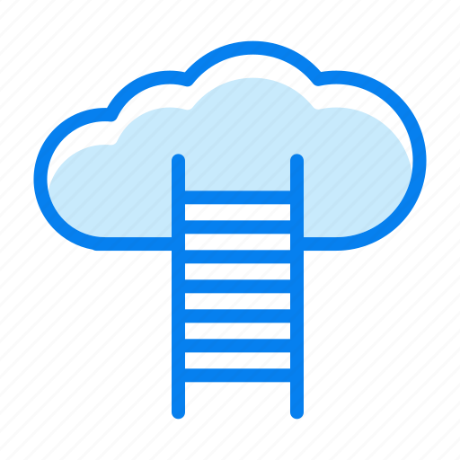 cloud, storage, upload, weather icon