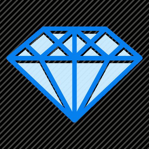 diamond, gemstone, jewelry, precious icon