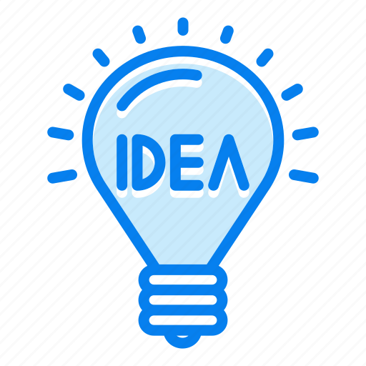 bulb, creative, idea, lightbulb, thinking icon